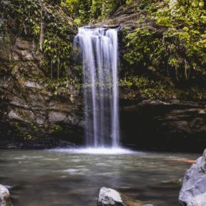 Unsplash - El Yunque Waterfall