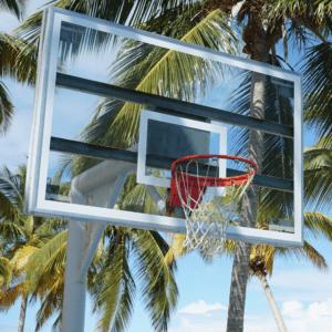 Unsplash - Outdoor Basketball Hoop